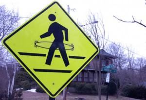 hula hoop crossing