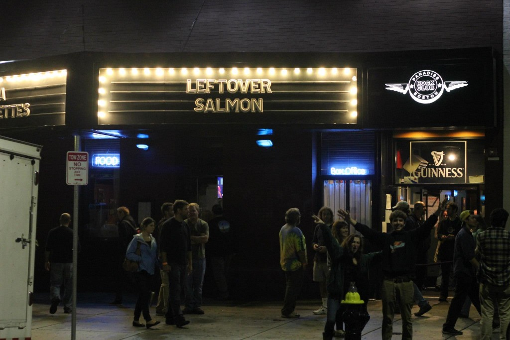 Leftover Salmon - Paradise Rock Club - Boston MA